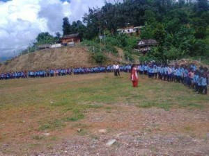 Rally  Child day 2071 in Badakhola