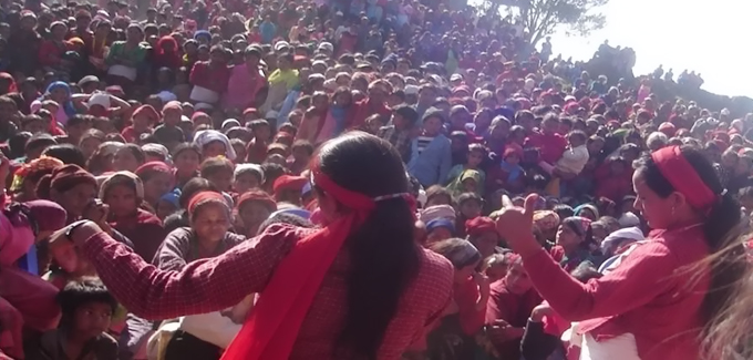 Women Day Celebration in Dullu
